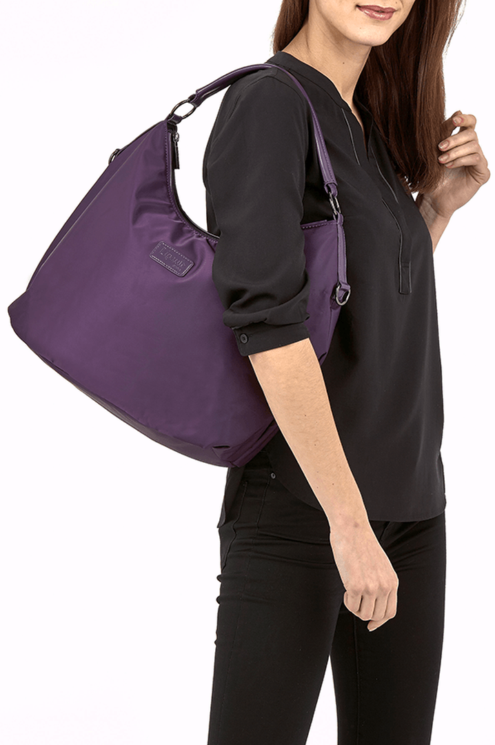 Lady Plume Hobo tas M Purple | 3