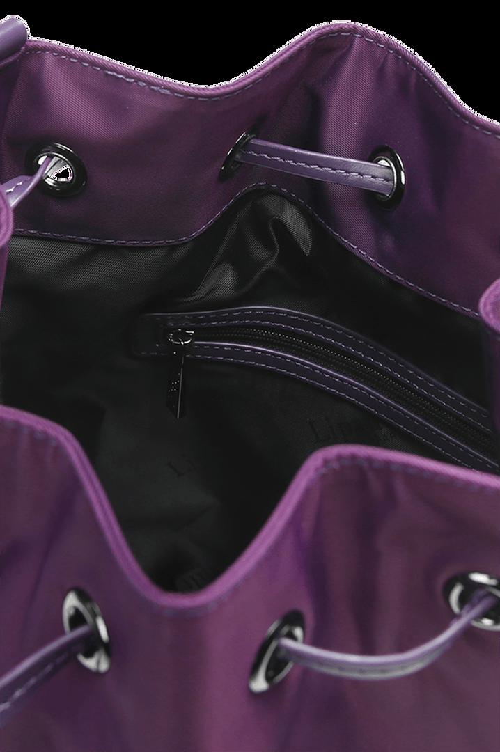Lady Plume Bucket Bag S Purple | 2