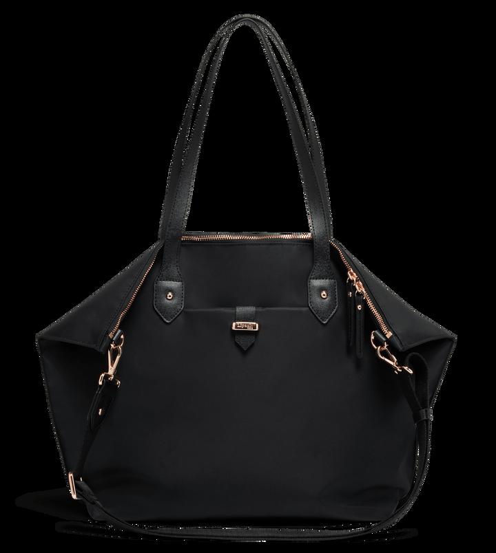 Plume Avenue Shopper  Jet Black | 1