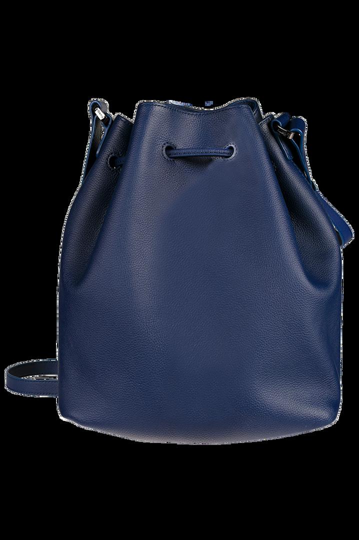 Plume Elegance Bucket Bag Navy | 2