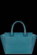 Plume Elegance Satchel tas Duck Blue