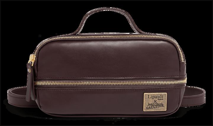 J.P. Gaultier Collab Belt Bag  Burgundy | 1