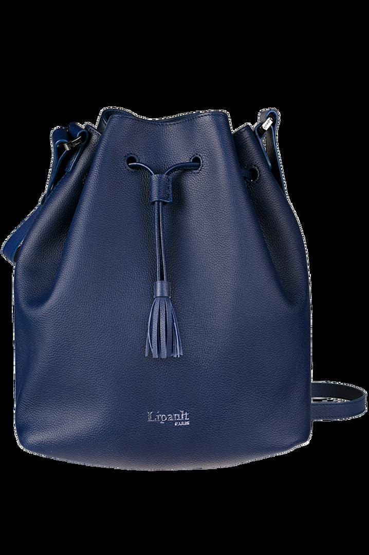 Plume Elegance Bucket Bag Navy | 1