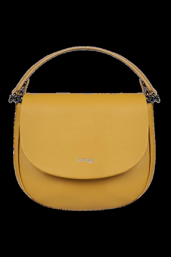 Plume Elegance Zadeltas Mustard | 1