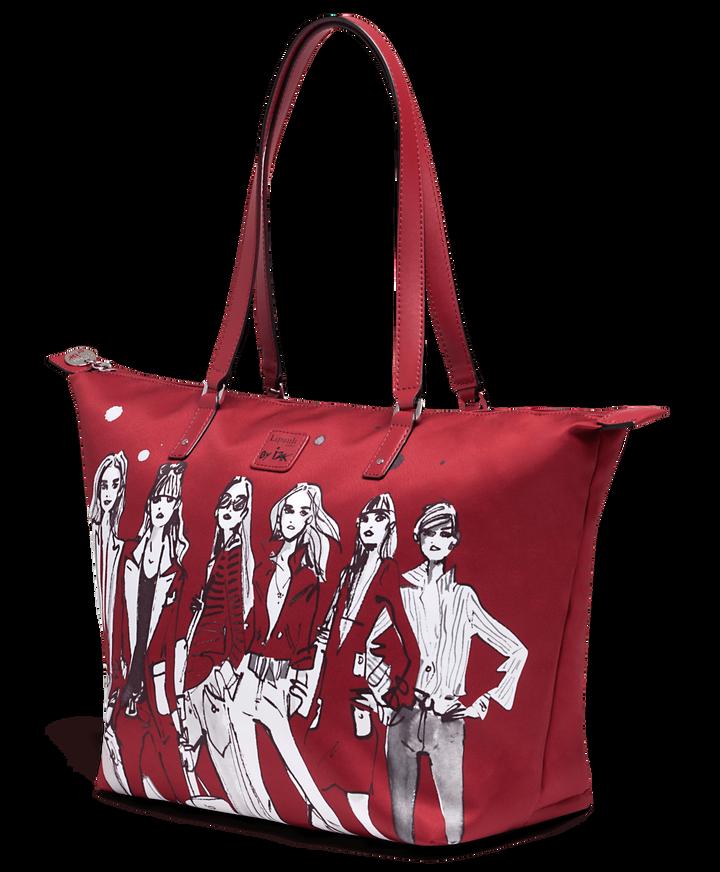 Izak Zenou Collab Shopper M Pose/Garnet Red   3
