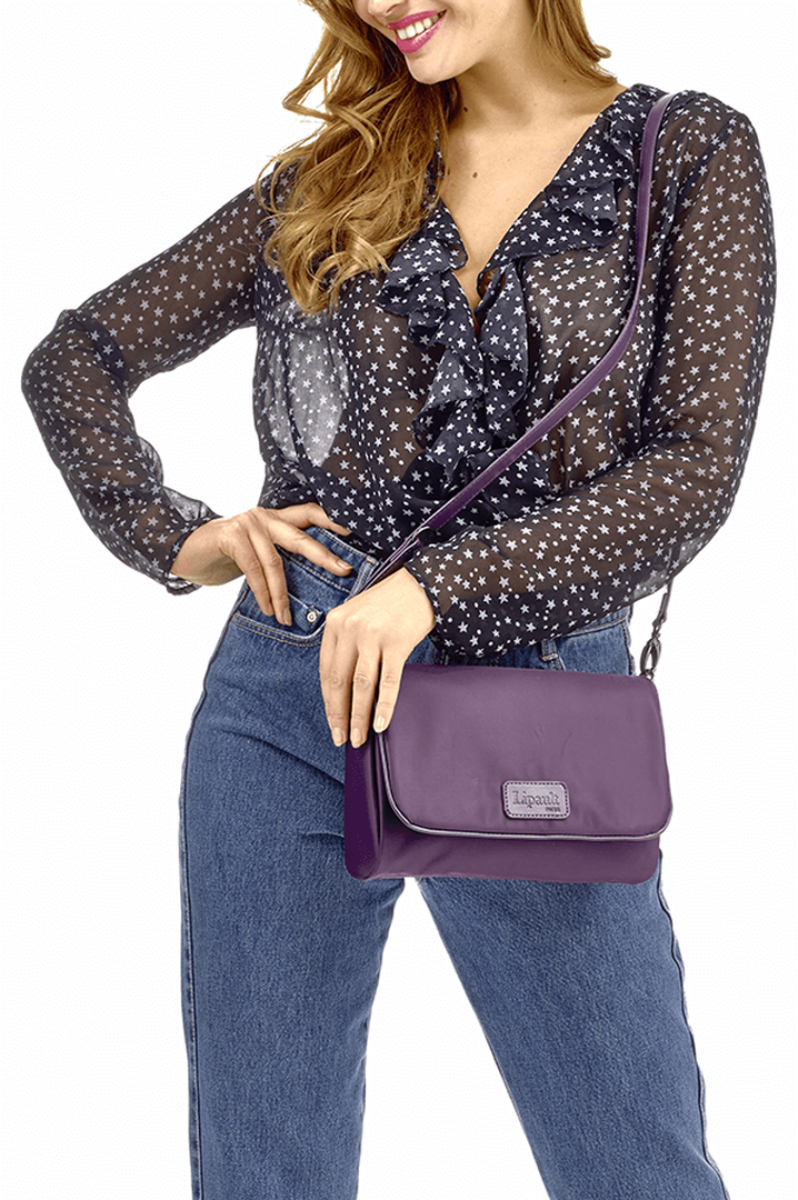 Lady Plume Clutch M Purple | 3