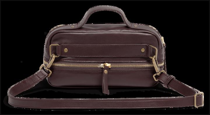 J.P. Gaultier Collab Belt Bag Burgundy | 3
