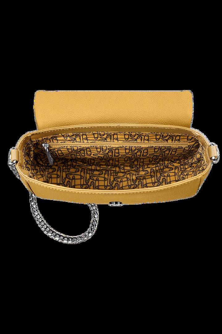 Plume Elegance Zadeltas Mustard | 2