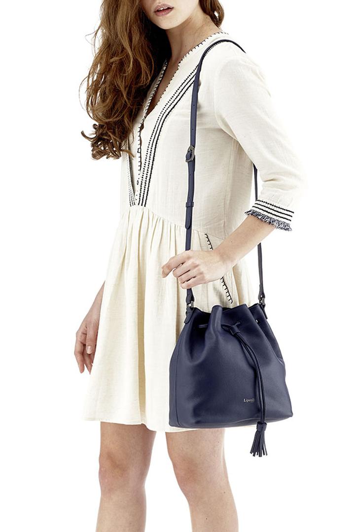Plume Elegance Bucket Bag Navy | 3